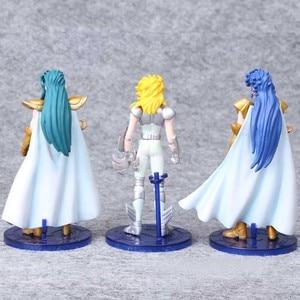 Image 4 - 5pcs/set 15 cm Saint Seiya Pvc Action Figure Toy Japanese Anime Saint Seiya Display Model Toys Children Birthday Jouet Gift