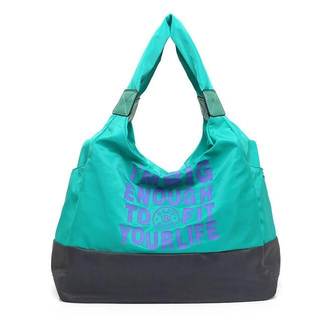 Waterproof Shoulder Bag Outdoor Handbag Gym Bag Yoga Sports Bags Sport Women Fitness Pack Mummy Travel Handbags Holdall XA307WA