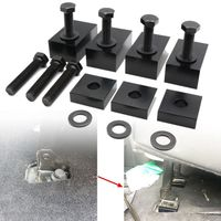 Back Seat Recline Kit Bolts Adjustment Tool for Jeep Wrangler 4 Door 2007 2017
