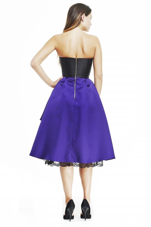 Anticuado Vestido De Cóctel Negro Atractivo Ideas Ornamento ...