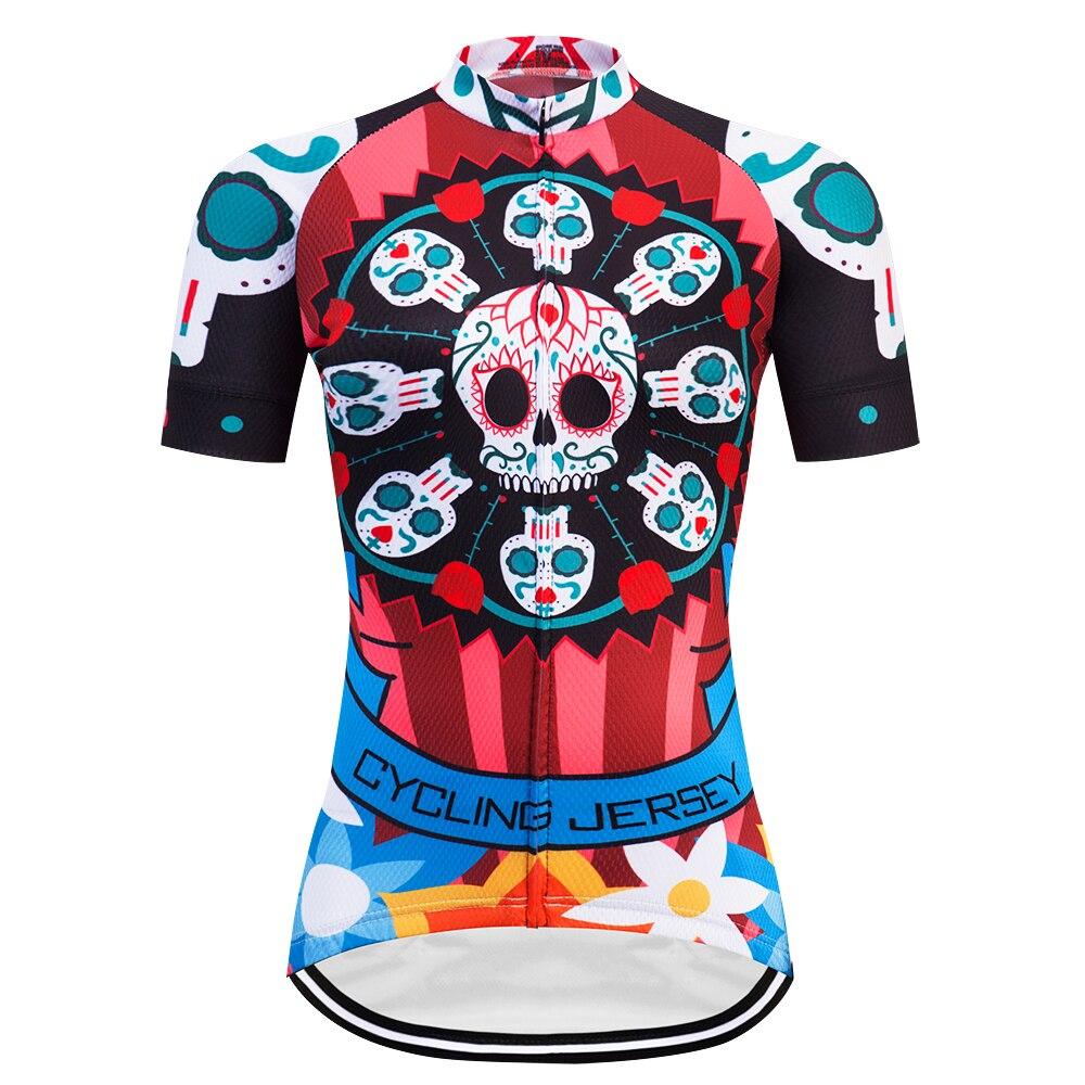 CLUBVAN 2018 Femmes Cycling Jersey À Manches Courtes Maillot Ciclismo Rapide Sec Vélo Vêtements Respirant Porter Des Vêtements de Sport