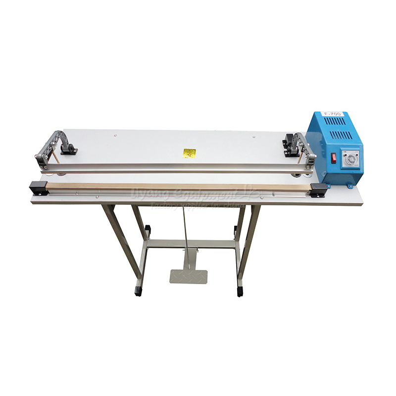 Shrink film tight cutting pedal continuous packing sealing machine F-700 no tax to RU no tax cw6121 multifunction wall groove cutting machine wall groove machine wall chaser machine for brick