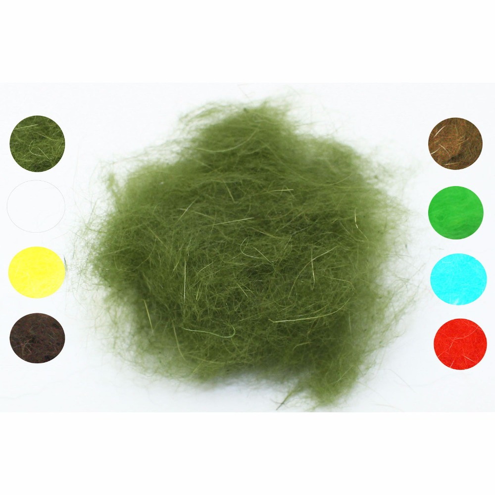 Tigofly 8 packs Fly Tying Dub Rabbit Dubbing Soft Genuine Hair Fiber 8 Colors to Choose Nymph Wet Fly Tying Materials bimoo 6 bags ultra fine ice dub for fly tying synthetic sparkle dubbing fiber for nymph scud streamers fly tying material