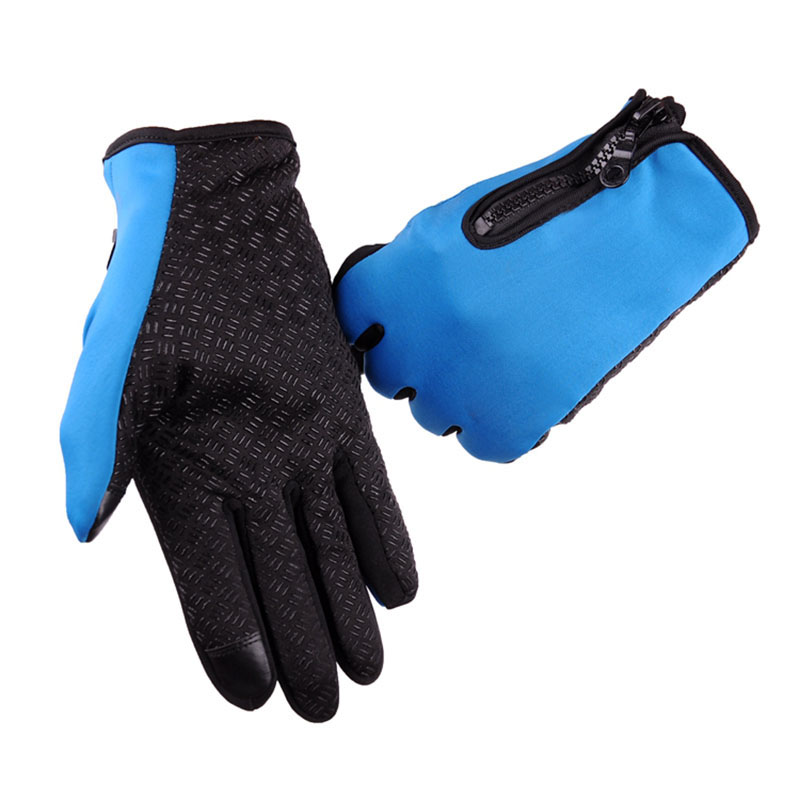 Waterproof Winter Warm Gloves Men Ski Gloves Snowboard Gloves Motorcycle Riding Winter Touch Screen Snow Windsproof Glove