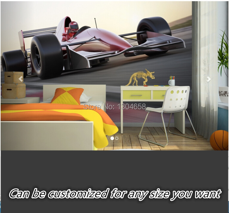 Free shipping custom 3D large mural of modern living room bedroom restaurant background wall paper Racing Car Mural Wallpaper free shipping swan lake blue 3d stereo background wall bedroom living room mural 3d high quality office wallpaper
