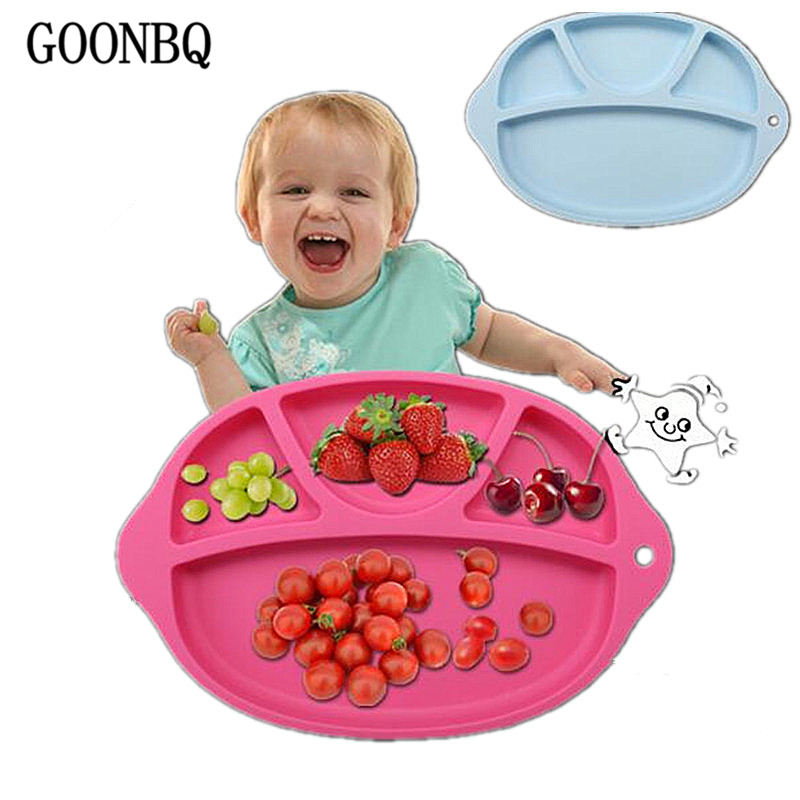Home & Garden Table Decoration & Accessories Qualified Goonbq 1 Pc 27.5*18 Cm Waterproof Baby Table Mat Silicone Suction Table Baby Bib Dishes Baby Kids Non-toxic Plate Mat Table Pad Professional Design