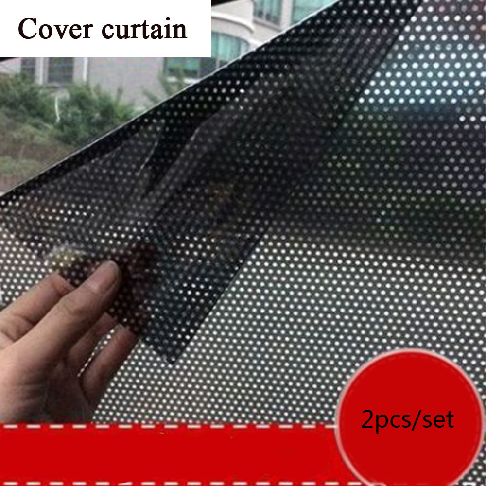 Car Static Sunshade Stickers Window Glass Sunscreen Curtain Insulation Curtain Car Sunroof Sun Window Film Anti-UV