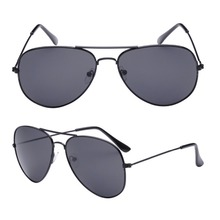 4 Coulor Classic Sunglasses Female Male Oversized Pilot Trendy Fashion Metal For Men and Women Trend