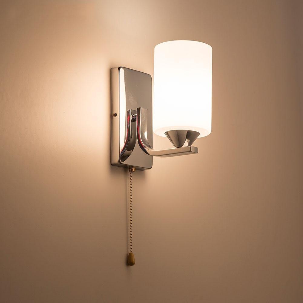 Hghomeart De Luminaria Appliques E27 Moderne Intérieur Led Chevet Lumière Éclairage Mont Applique Lampe YgfIbmyv76