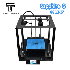 Image 4 - TWO TREES 3D Printer High precision Sapphire S CoreXY Automatic leveling Aluminium Profile Frame DIY print Kit Core XY structure