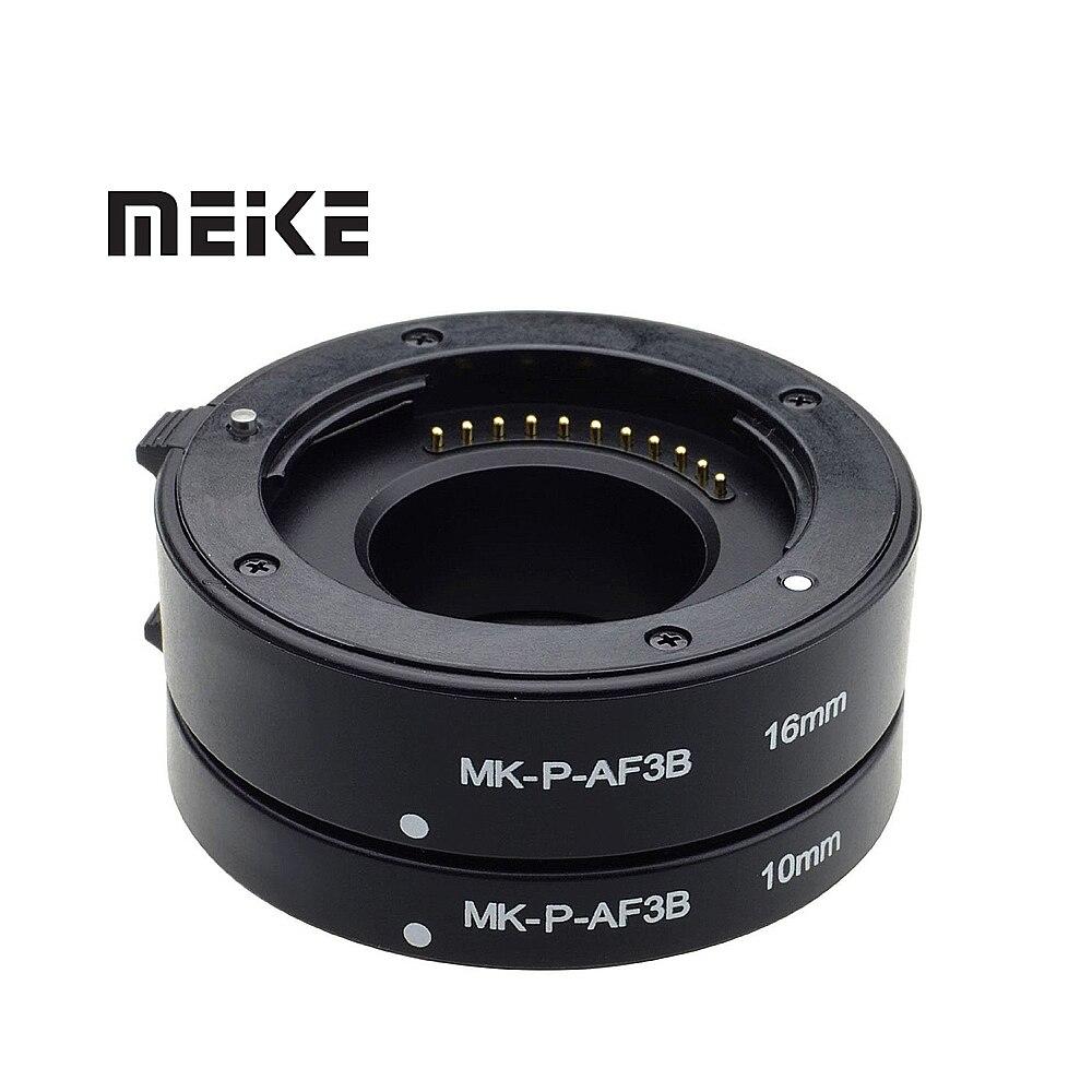 Mcoplus Macro AF Auto Focus Tube Extension Anneau pour Panasonic Olympus Quatre Tiers M43 Micro 4/3 Caméra Lentille E-M5 E-PL6 GX1 GM5