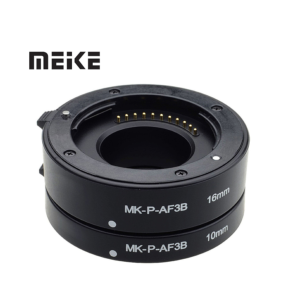 Mcoplus Macro AF enfoque automático anillo tubo de extensión para Olympus cuatro tercios M43 Micro 4/3 Cámara lente E-M5 E-PL6 GX1 GM5