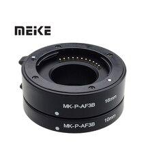 Mcoplus anel para câmera macro af, tubo de extensão de auto foco, para panasonic lumix olympus m4/3, micro câmera 4/3 E M5 gx1 gm5 g7 E PL7 g9