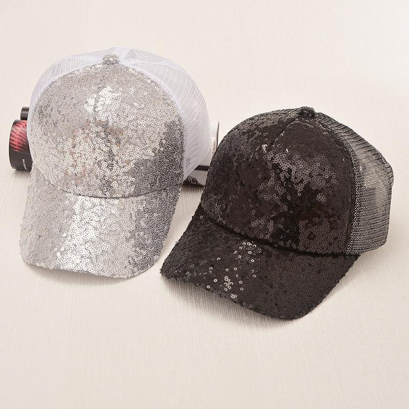 Prix pour Cap D'été Réglable Chapeau Hip Hop Rock Style Rivet Sequin Casquette de baseball Chapeau Occasionnel Soleil D'été Chapeaux