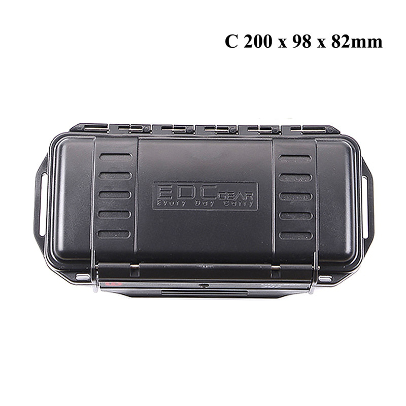 Outdoor Fishing Caja De Herramienta Shockproof Sealed Waterproof Safety Case ABS Plastic Tool Box Fishing Box(China)