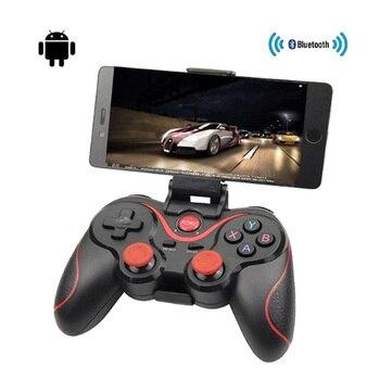 T3 X3 mando inalámbrico Bluetooth 3,0 Gamepad controlador de juegos de Control remoto para Tablet PC Android Teléfono móvil inteligente