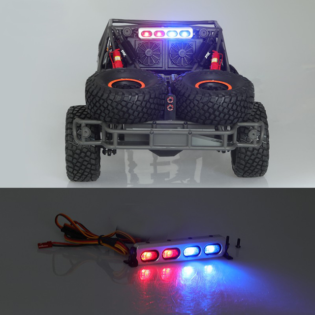 US $25 85 |1PCS DC RC TRAXXAS UDR Tail Lights DCAB 8004 LED Light Bar High  Bright Police Lights Strip for 1/10 UNLIMITED DESERT RACER-in Parts &