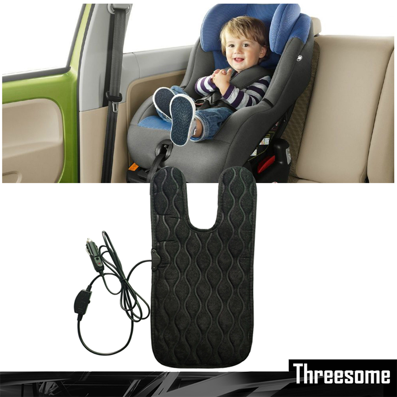 SRXZTM 45x20cm 12V Universal Baby Car Seat Cover Warm Seat Heating