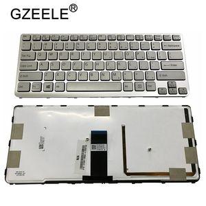 Image 4 - GZEELE US backlit new laptop keyboard for Sony VAIO SVE 14 SVE14 SVS14 SVE14A SVE14AG backlit Keyboard 149009711US 9Z.N6BBF.C01