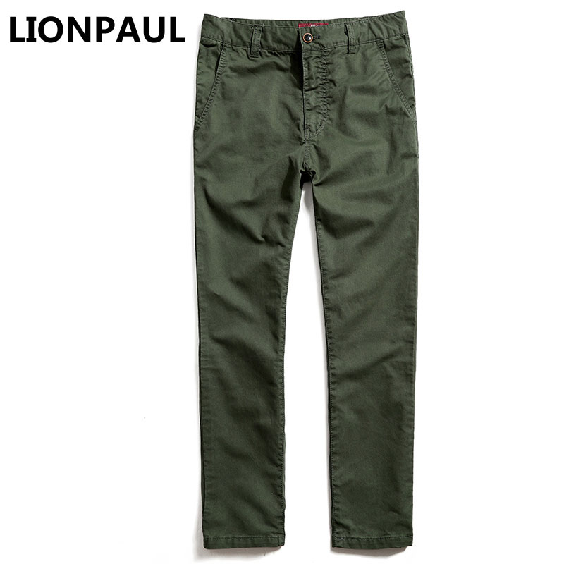 LIONPAUL New Arrival Time-limited Zipper Fly Midweight Casual Cargo Pants Tactical Male Military Camouflage Cargo Pants For Men