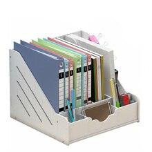 Органайзер для журналов, сделай сам, Настольная бумага для органайзера, держатель, настольная подставка, полка, стеллаж, офисные принадлежности, уголок радости