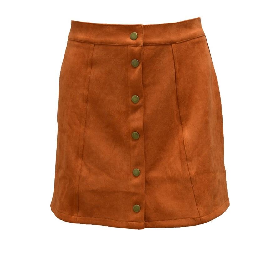 HTB1raHDPpXXXXbLXVXXq6xXFXXXn - Spring Button Suede Leather Skirts JKP058