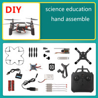 WIFI FPV Camera Micro Dron Frame Helicopter DIY Drone 2.4G RC Quadcopter Headless Mini Quad Copter