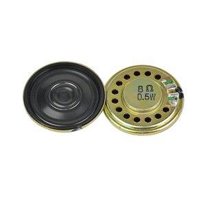 Image 4 - AIYIMA 10 adet Ultra ince hoparlörler 8 Ohm 0.5W boynuz hoparlör 20 23 28 30 36 40 50MM Mini hoparlör Diy