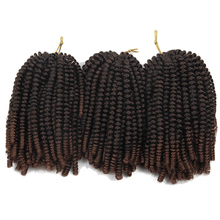 EUNICEHAIR Spring Twist Synthetic Braiding Hair for African Braids