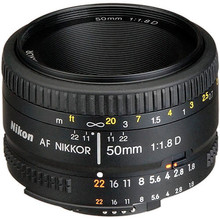 Nikonเลนส์50/1. 8 D Nikkor AF 50มิลลิเมตรf/1.8Dเลนส์สำหรับnikon d90 d7100 d7200 d610 d700 d810 d5กล้องดิจิตอลมืออาชีพ