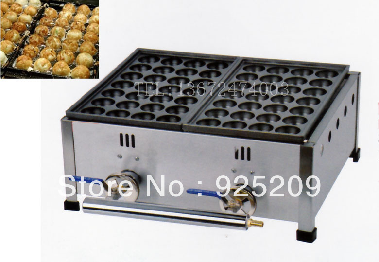 Gas meat ball maker, meatball forming machine/ octopus ball free shipping electric fish ball maker meatball oven meat ball forming machine takoyaki octopus cluster