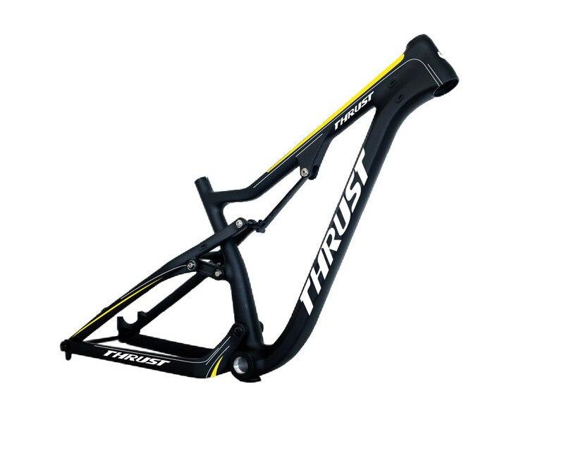 Mountain Bike Frame 177*12 hub size suspension shock MTB frame Full ...