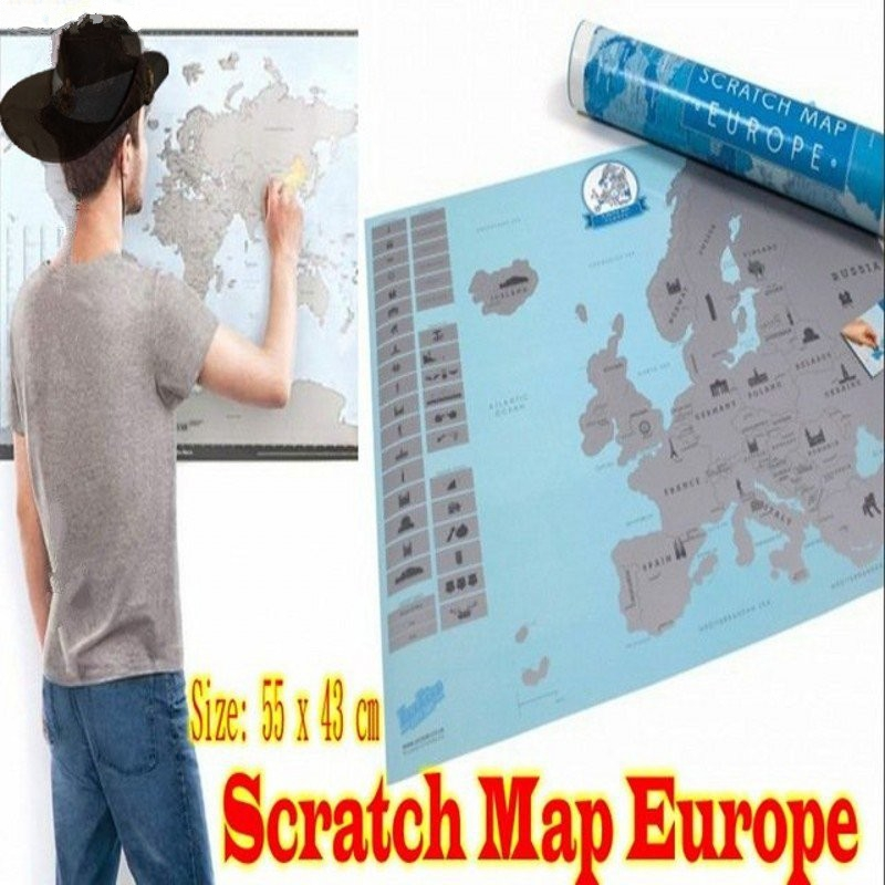 Map Of Europe For Sale.Hot Sale High Quality Deluxe Scratch Off Map Travel Scratch Map