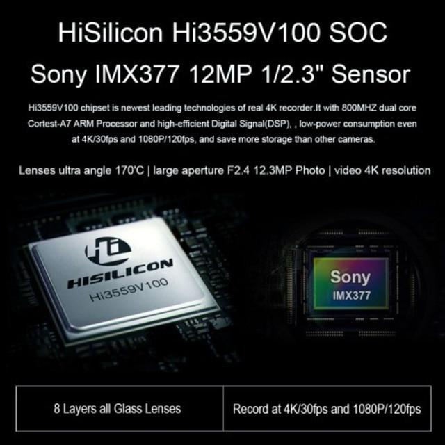 SOOCOO S300 Action Camera EIS Image Stabilization Sport Cam 4K 30FPS 2.35 2