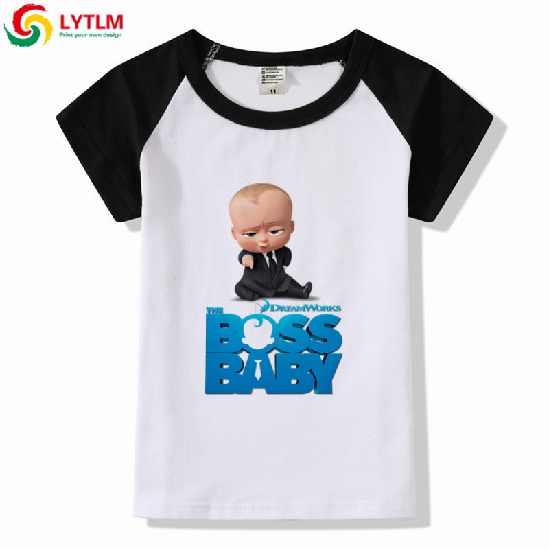 4e4198db3 LYTLM New Summer Children Clothing Boss Baby Birthday Baby Boy T Shirt  Cotton Toddler Boy Short