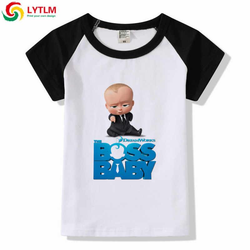 bfb8724c2 LYTLM New Summer Children Clothing Boss Baby Birthday Baby Boy T Shirt  Cotton Toddler Boy Short