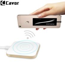 Qi Беспроводное зарядное устройство для samsung Galaxy A8s A10 A30 A50 чехол для сотового телефона power Bank Pad беспроводной зарядный приемник и ТПУ чехол