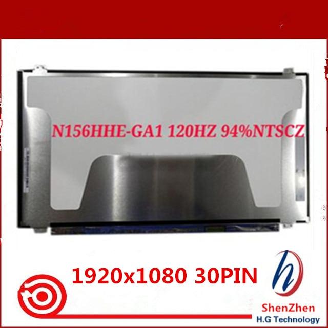 High quality 15.6'' FHD LED LCD Screen TN Display Panel 120Hz 94%NTSC For N156HHE-GA1 1920x1080 30PIN