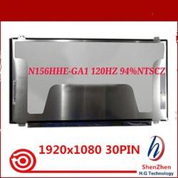 Oryginalny 120HZ ekran LED matryca wyświetlacza LCD do laptopa 15.6