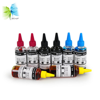 Winnerjet 10 sets x 6 colors 100ml edible ink for Epson refill inks for coffee cake food ink
