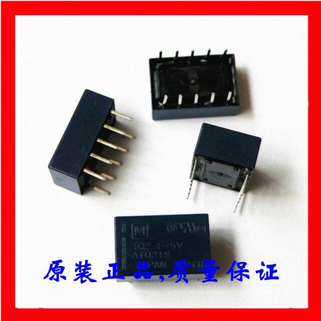 送料無料ロット (10 ピース/ロット) 100% オリジナル新 TQ2 L 5V ATQ219 TQ2 L 5VDC TQ2 L DC5V 10 ピン 1A 5VDC 信号リレー