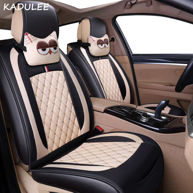 KADULEE car seat covers for alfa romeo 156 toyota aygo hyundai creta peugeot 307 auto accessories car styling car seat protector
