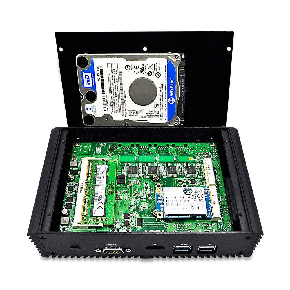 Free Shipping! 4 Gigabit LAN ports Mini PC Celeron 3215U/Core i3/Core i5-5250 using pfsense as Router/ Firewall, x86  Linux