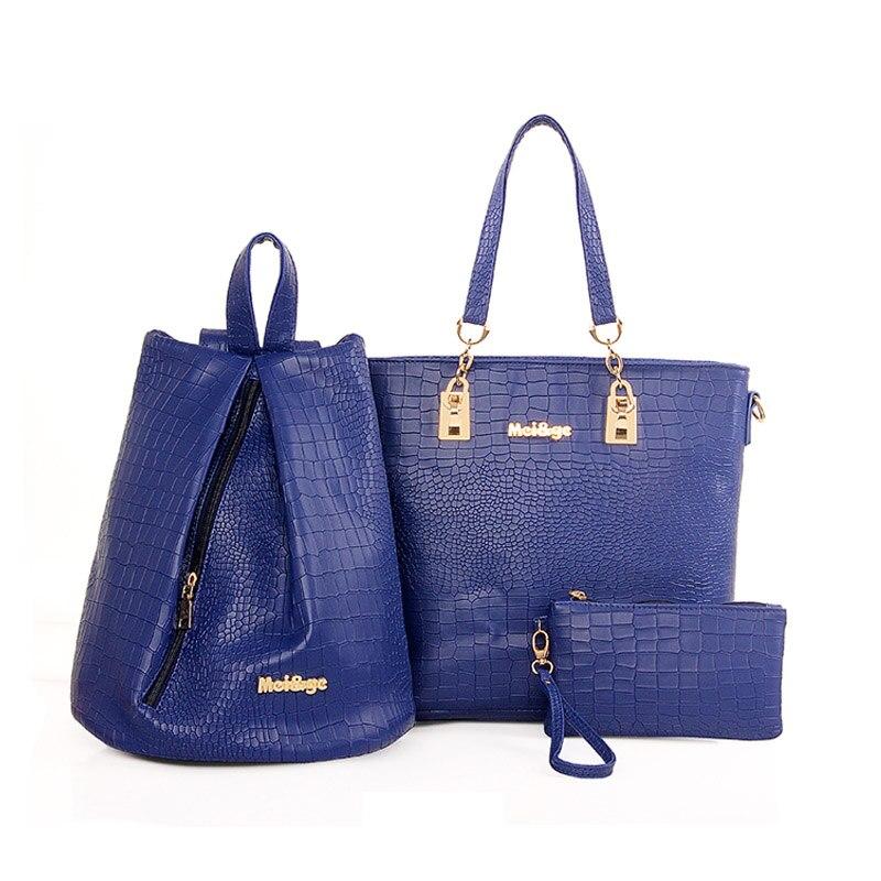 2017 Hot women handbag crocodile style leather handbag messenger bag fashion shoulder bag high quality bolsas pouch