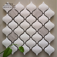Lantern ceramic mosaic tile for wall decoration