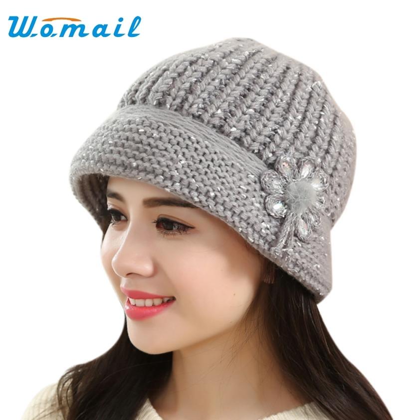 Fashion Women Lady Winter Warm Crochet Knitted Hat-in ...