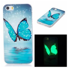 AiYvZ Noctilucent Pattern Soft back Cover mobile Phone cases for Apple iPhone 5s SE TPU Case Spain France USA Russia UA BY