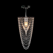 E14 Mini Crystal Pendant Light Stanless Steel For Dinning Room Re Lighting Fixture Wpl046