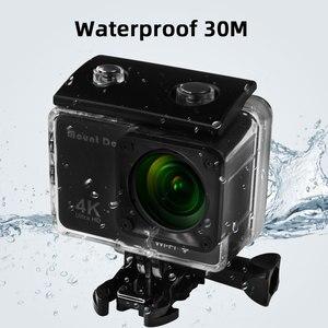 Image 5 - Ultra HD 4K Sport Action Kamera Wifi 170D 30fps Gehen pro Zubehör Selfie Stick Brustgurt Gürtel Für Sport video Action Cam