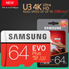 SAMSUNG EVO+ Memory Card 16GB/32GB/SDHC 64GB/128GB/256GB/SDXC Micro SD TF Card Class10 Microsd C10 UHS-1 Cards Free Shipping